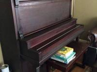 I have a Schiller Upright Grand integrateded 1913