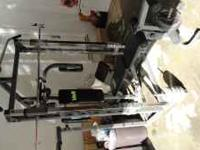 Voit pro series free weight gym. model number 963HF.