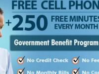 Get your free wireless phone, 250 free minutes of