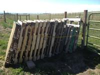Free Wooden Pallets in Elizabeth Colorado Call  //