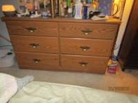 Hi - I have the attached dresser for free - you pick