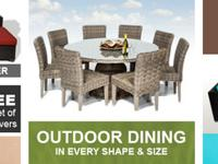 Thanks for considering us for your Wicker Outdoor patio