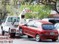 If you need free Towing, well call us and ask for more