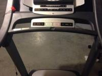 Excellent condition, barely used treadmill, has ifit