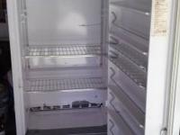 white whirpool freezer works great stand up freezer you