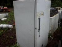Upright freezer, works great $75.00. Chest style