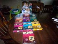 All 10 seasons plus a speacial edition trivia game with