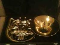 (JUST REDUCED!!!) French Horn in like new condition. I