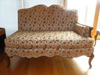 Antique set of very nice French Prov. love seats and