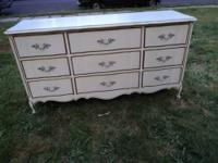 French Provincial 9 Drawer Dresser French provincial 9