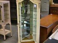 French Provincial Corner Cabinet     Get there 1st and