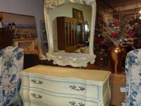 This is a very stunning French Provincial Dresser w/