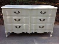 This is a lovely French Rural serpentine shabby elegant