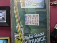 Advertisement for French winter sports. Awesome