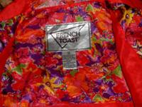 """FRENCH TOAST""RAIN SPRING/ FALL JACKET! SIZE 12 KIDS!!"