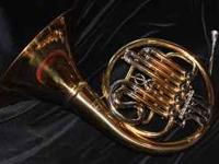 French Horn with Removable Bell and Hard Case $300 (or