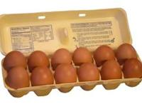 I'm selling fresh brown eggs for $2 a dozen The