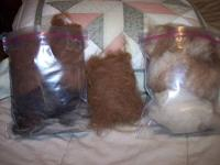 Ready when you are. Alpaca and Sheep fiber . I have it