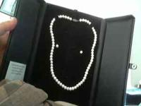 This listing is for a Fresh Water Pearl Necklace and