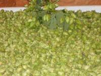 Fresh Whole Hops Cascade , Kent golding and Nugget. .