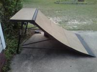 I have a 2008 FRESHPARK quarter-pipe stakeboard ramp