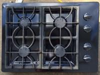 Like new, black, Fridgidaire, electric double wall