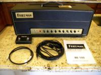 Type: Guitars Type: Electric Friedman BE-100 100 Watt