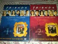 Friend's Complete seasons 1, 2 and 3 on DVD. They are
