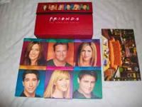 Friends complete series dvd box set,$100 like new!,