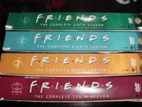 Friends Seasons 6, 8, 9, 10$50. Cashe-mail or call