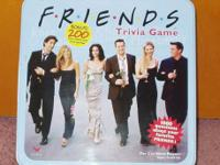 Test your TV knowledge with this . . .   FRIENDS Trivia