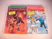 Fright Time Books #7 #10 Each with 3 Spine Tingling