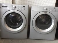 Quantity: 1 Washer and 1 Dryer Condition: Used but