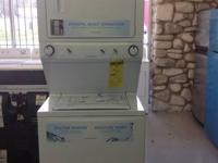 New Frigidaire Electric Stack able Washer & Dryer unit