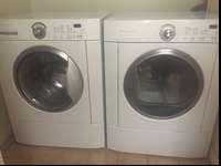 Frigidaire front load washer and gas dryer. $500 for
