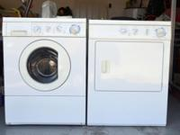Frigidaire Gallery Front load Washer and Gas Dryer