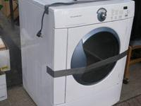 Frigidaire Gas Stackable Dryer in good working order