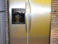 Must Sell! Frigidaire stainless steel refrigerator with