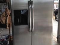 Stainless Steel refrigerator / Side by Side / Automatic