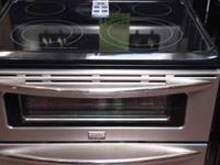 "FRIGIDAIRE SS 30"" GALLERY FITS MORE DOUBLE OVEN RANGE"