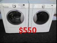 I am selling this Frigidaire washer and electric dryer