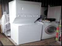 I am selling this stackable washer and electric dryer