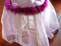 photographer cleaning house....lots of frilly brand new