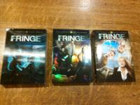 I have the very first three (full) periods of Fringe