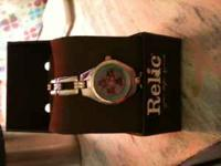 Very cute Relic Frog Watch! NEVER WORN! $30 OBO