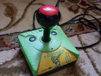"Frogger ""plug-n-play"" game.  Plugs right into the TV"