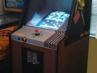 This is an original working Frogger Arcade Arcade with