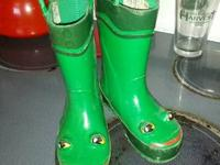 Froggie rain boots.  Size 8.  Cash and pick up only