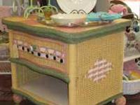 We've got antiques and shabby chic from wall to wall!