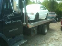 Hello, at Quick Care Towing we will come out and remove